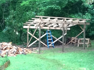The Infamous Wood Shed In-Progress