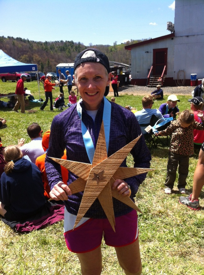 Our Finisher Medals and  the awards were handcrafted from reclaimed lumber.