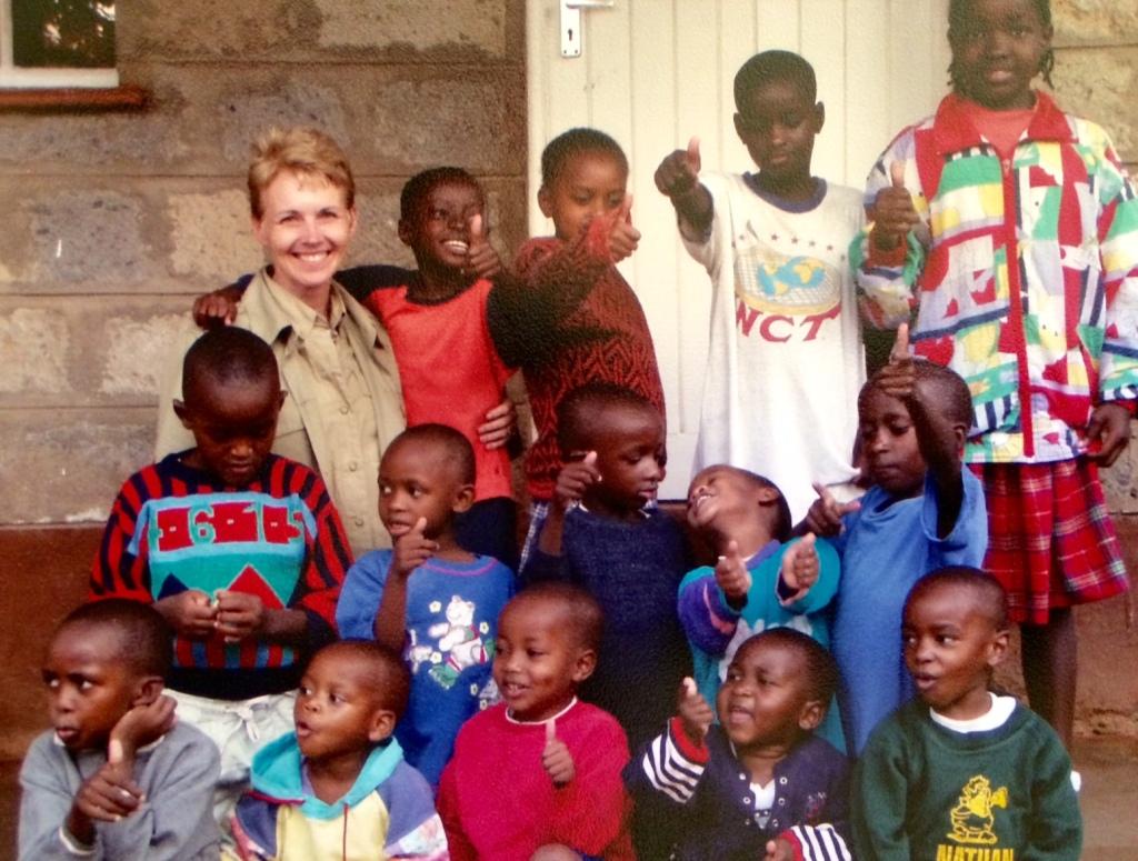 The children of Nyumbani