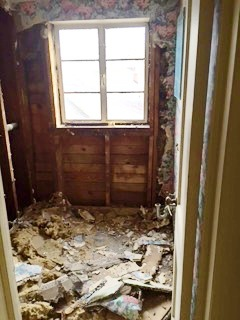 3rd Floor Bath Demolished