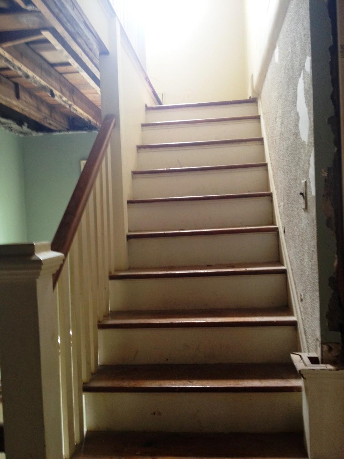 3rd Stairway Before