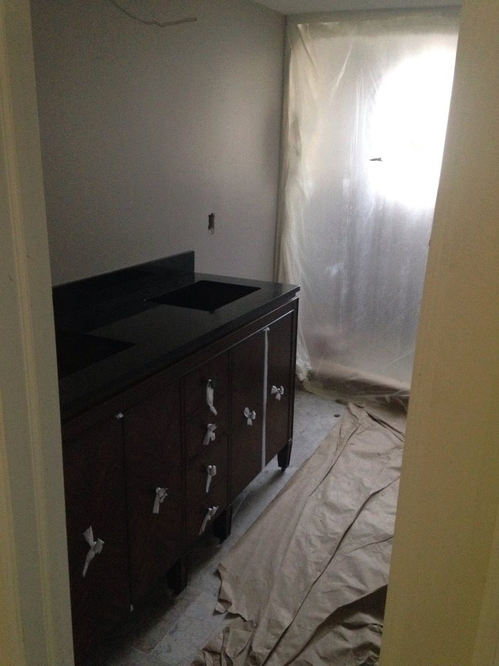 Master Bath In-Progress