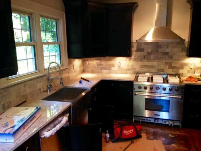 kitchen in progress 2